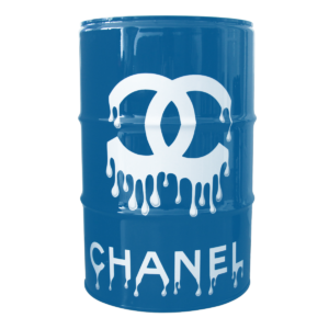 baril chanel front bleu