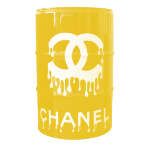 baril chanel front jaune