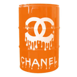 baril chanel front orange