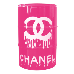 baril chanel front rose